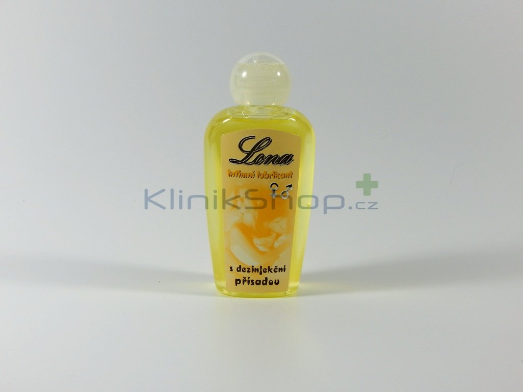 Lubrikační gel LONA - Desinfekční