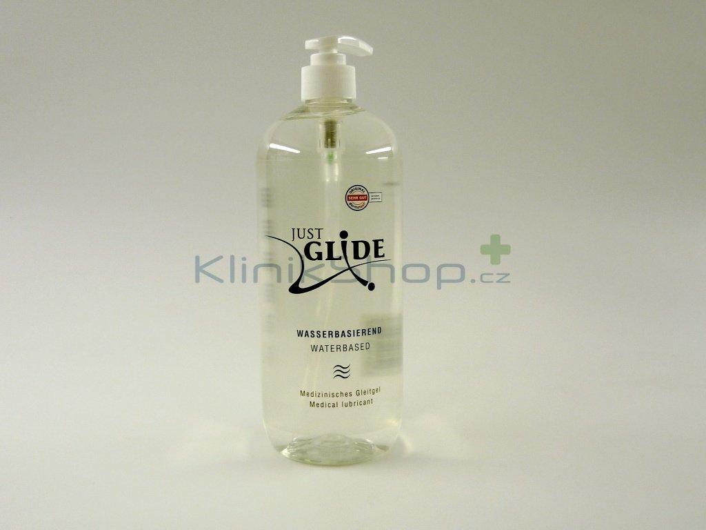 Lubrikační gel Just Glide - vodní báze 1 L