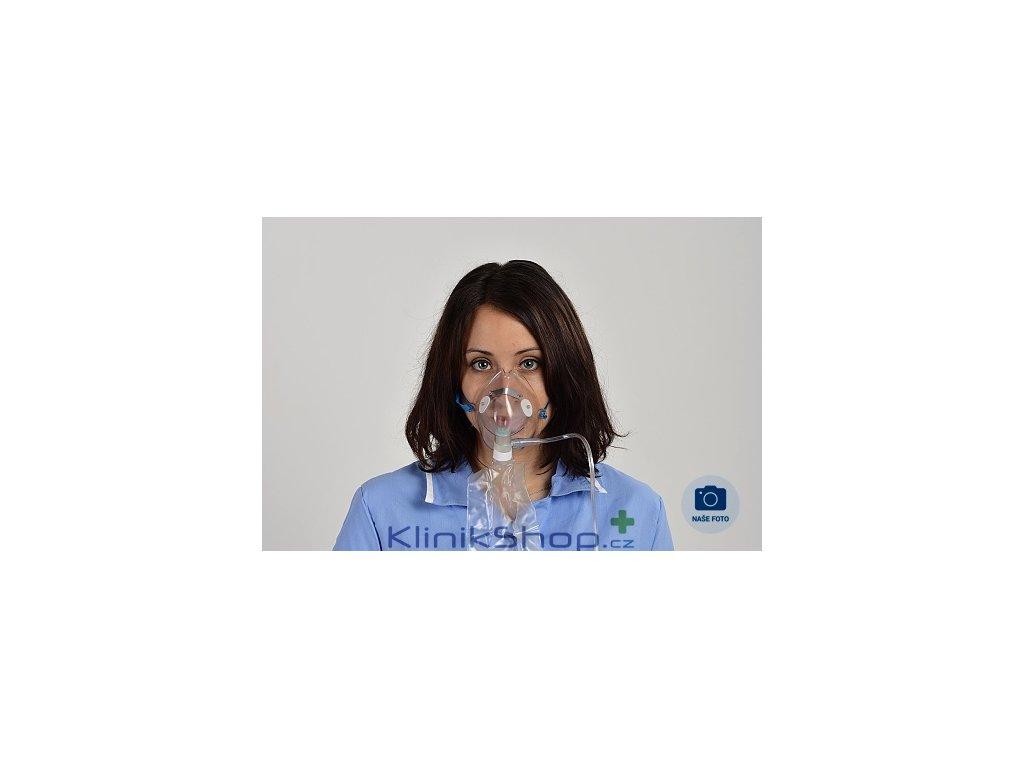 Kyslíková maska s rezervoárem - vakem