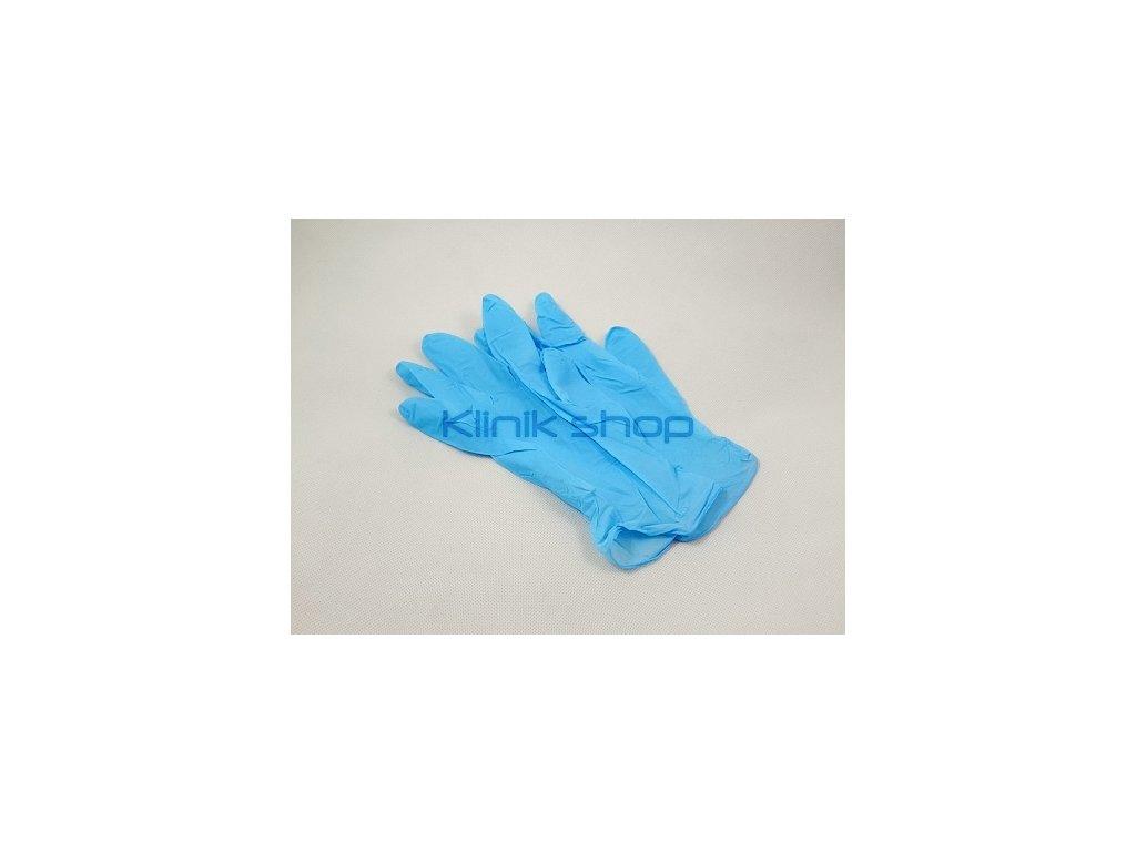 Nitrilové rukavice - světle modré vel.L