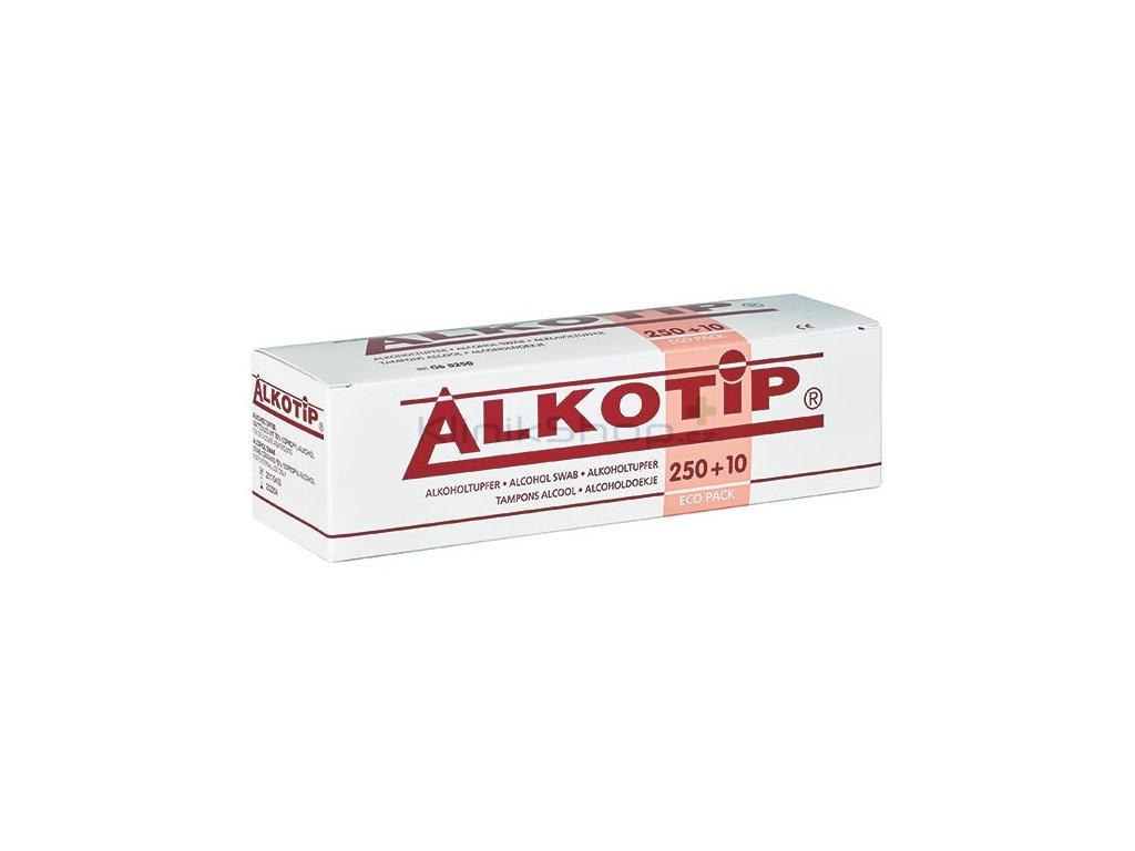 Alkotip - dezinfekční čtverečky