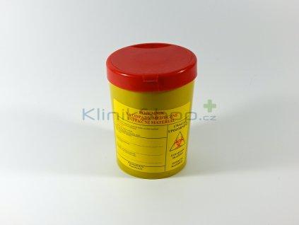 Kontejner na infekční odpad 0,7 l