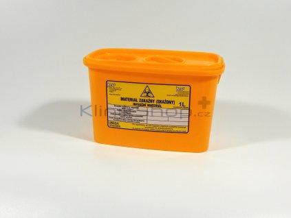 Kontejner na infekční odpad 1 L