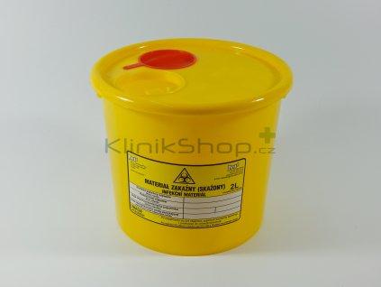 Kontejner na infekční odpad 2 L