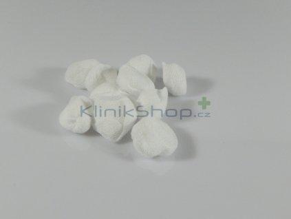 Tampon stáčený z gázy - sterilní 12cm x 12cm / 10ks