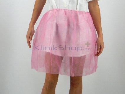 Gynekologická sukně růžová