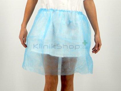 Gynekologická sukně modrá
