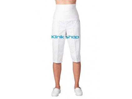 Dámské kalhoty s elastickým pásem 3/4 délky