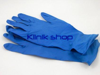 Modré latexové rukavice - zesílené 5 párů 9a4f826e23