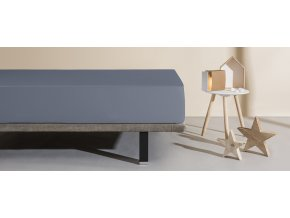 matracový chránič a prostěradlo Aura tmavě šedá