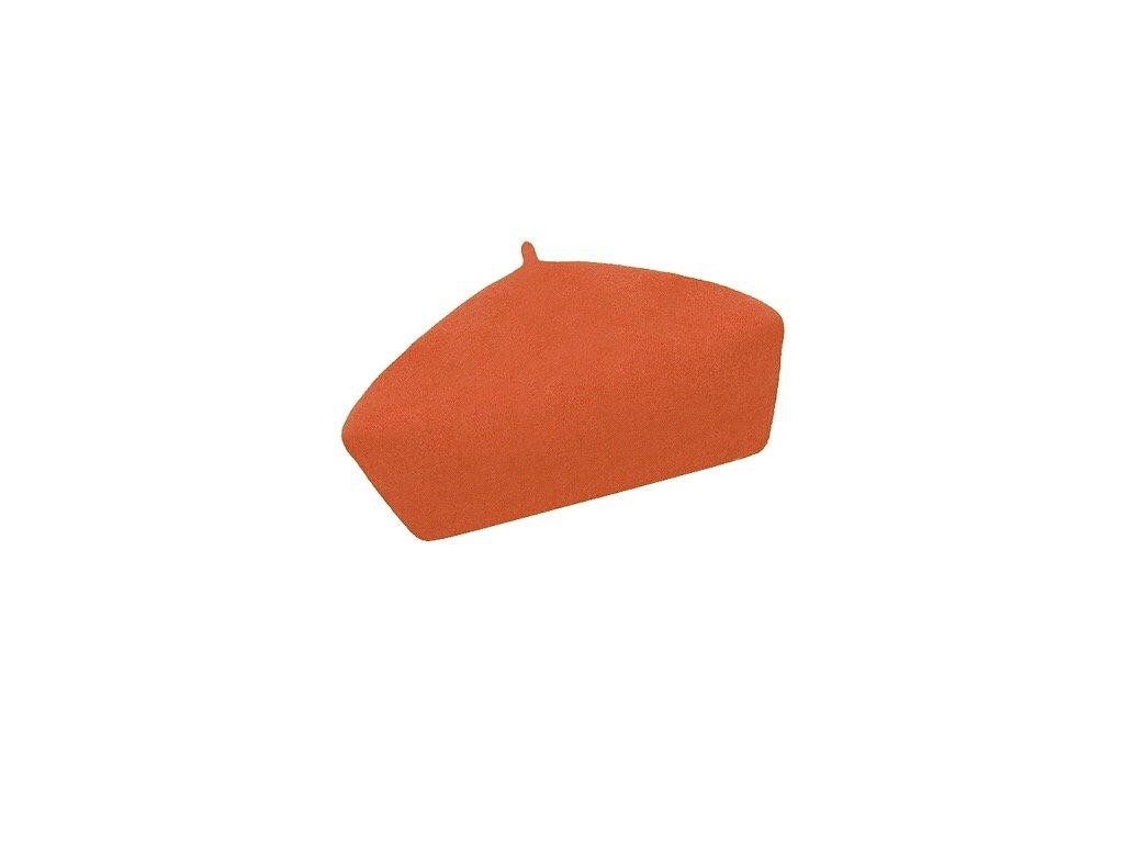 damsky baret alice oranzova