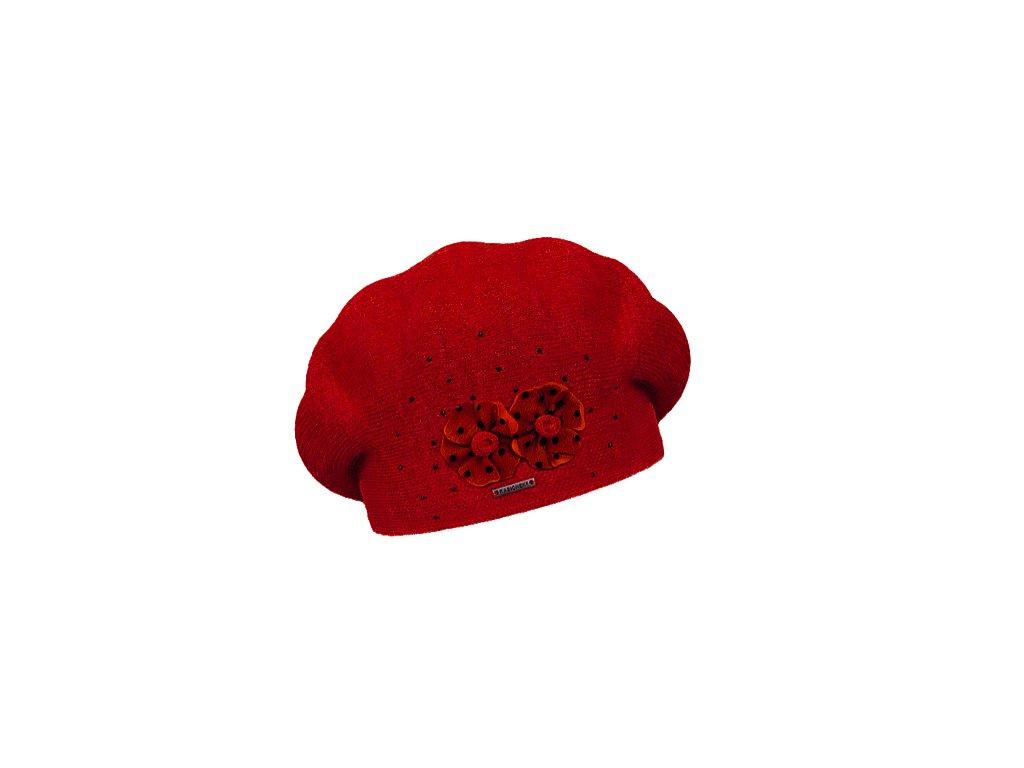 damsky baret laurence red