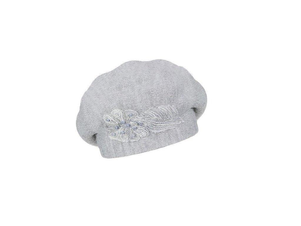 damsky vlneny pleteny baret alexis seda