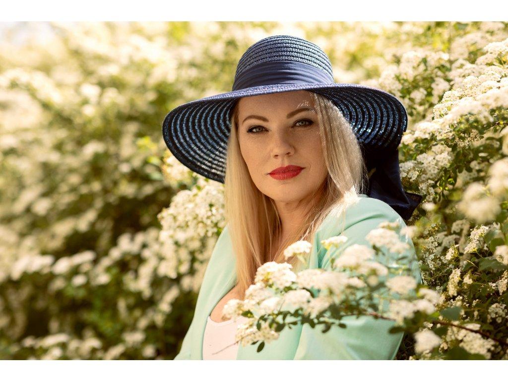 damsky letni klobouk victorien hneda