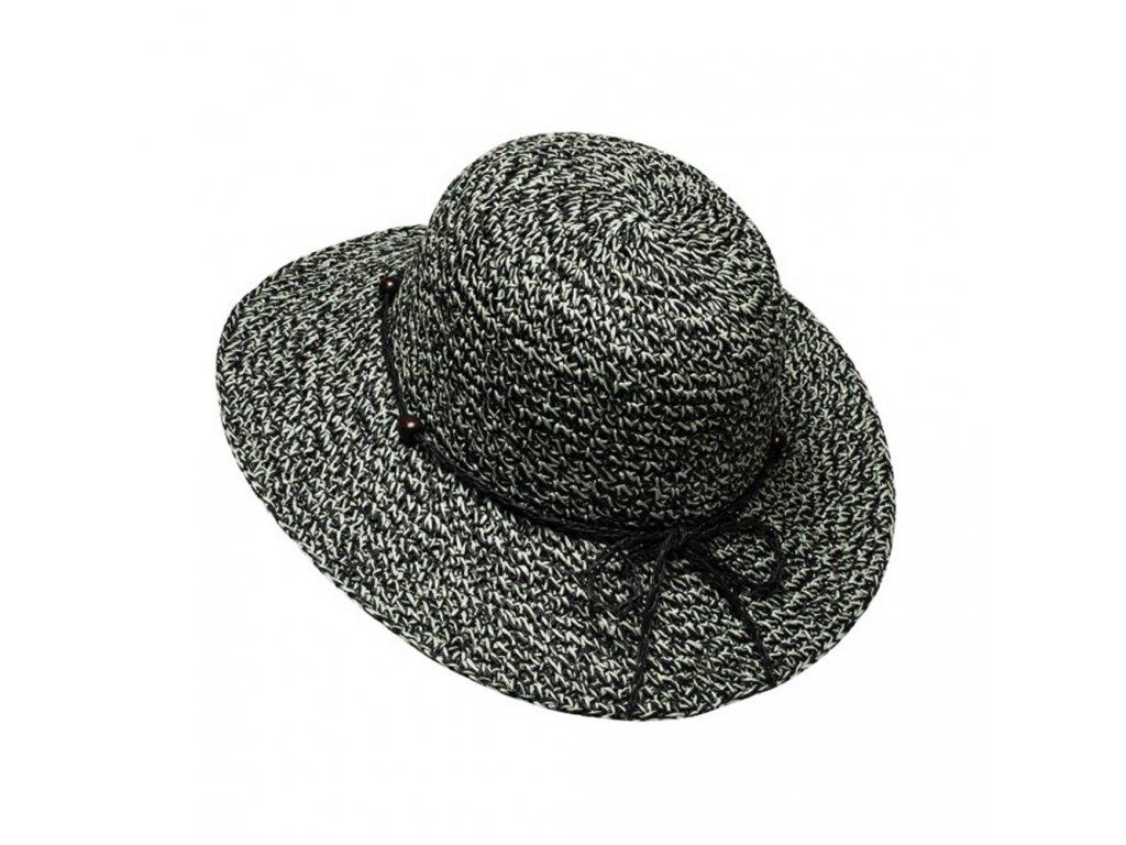 Dámský letní klobouk Bernadette šedý