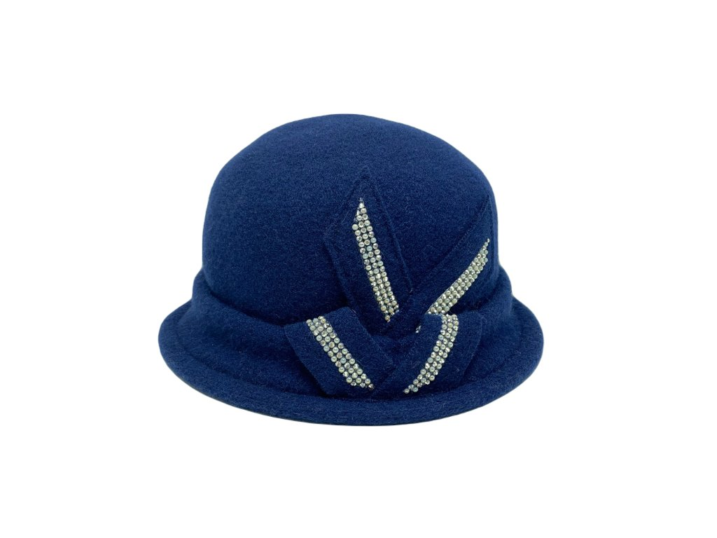 damsky zimni klobouk dolores modra