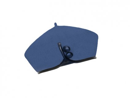 damsky vlneny baret catherine modra