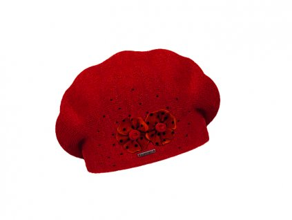 damsky baret laurence red