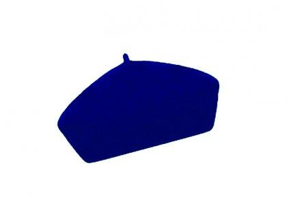 damsky vlneny baret alice tmave modra