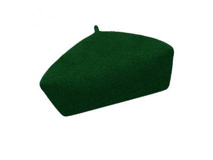 damsky baret alice tmave zelena