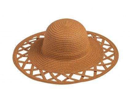 damsky letni klobouk yvette hneda