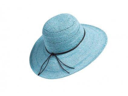 damsky letni klobouk lea tyrkysova