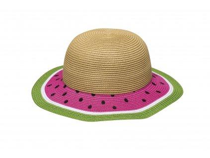 divci letni klobouk meloun