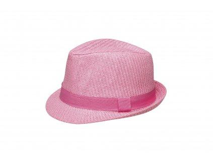 detsky letni klobouk jamie ruzova