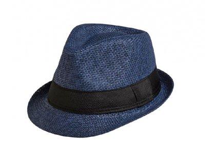unisex letni klobouk kilian modra