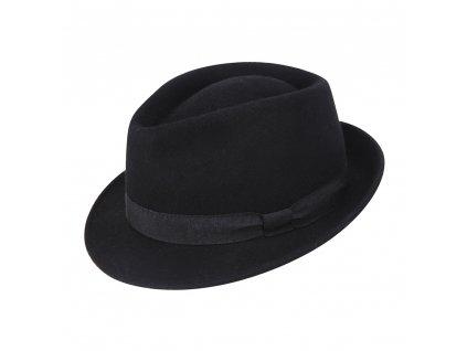 pansky vlneny klobouk dorian cerna