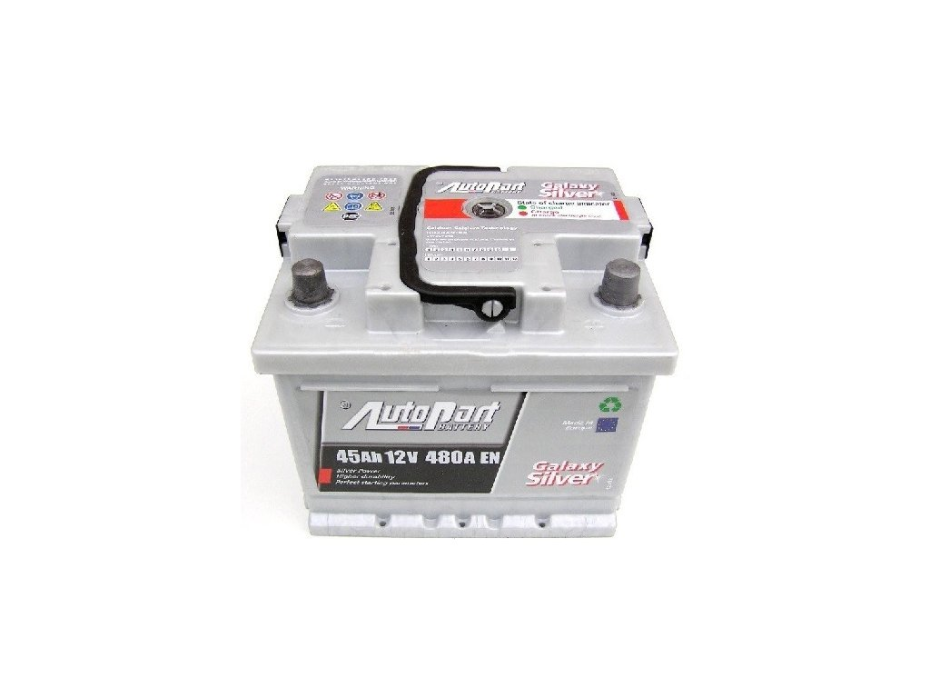 Autobaterie Galaxy Silver 45 Ah 12V, 207x175x175 mm