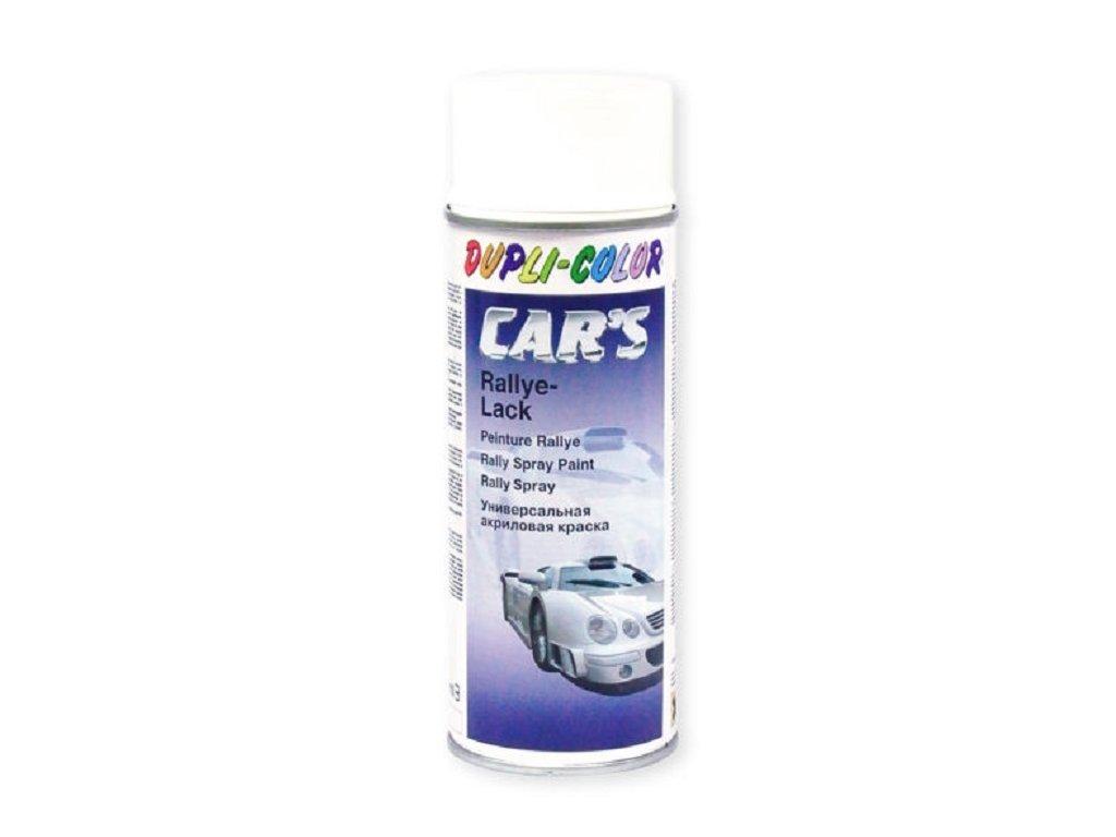 Autolak ve spreji bílý, lesklý, 400 ml - DUPLI-COLOR 385896