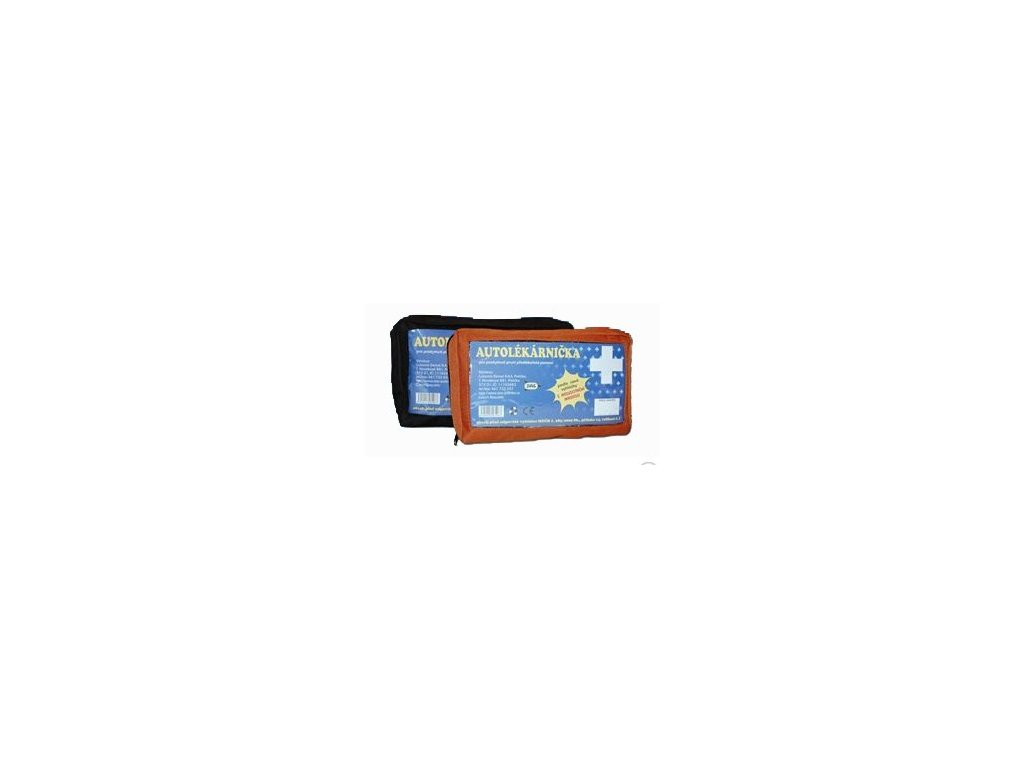 Autolékárnička dle novelizace k 1.1.2011 - kortexinový obal