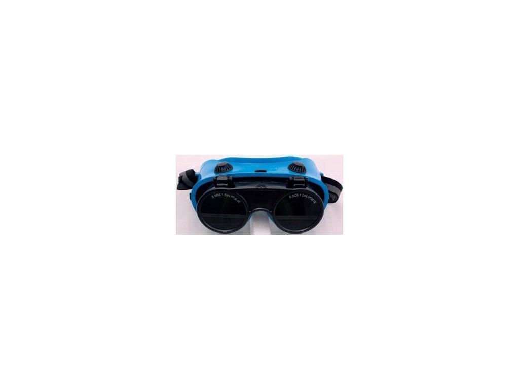 Brýle na sváření, výměnná skla