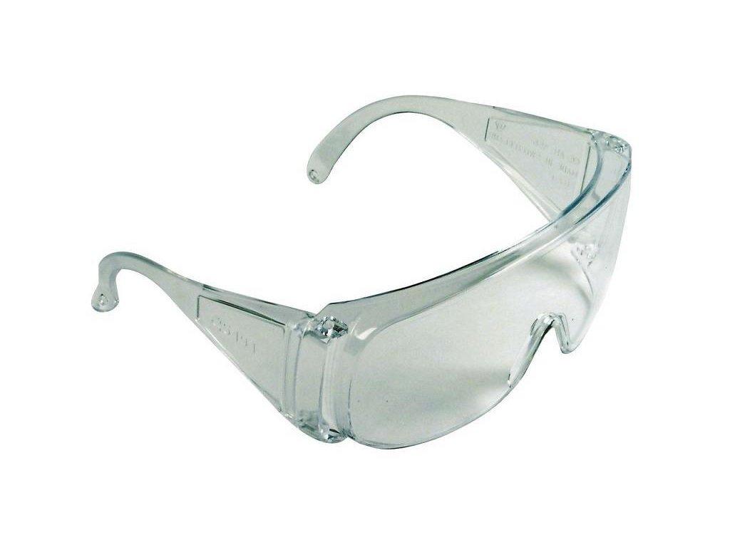 Brýle ochranné, čiré EN 166