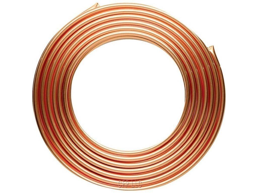 Brzdové potrubí měděné 4,75 mm, délka 5m
