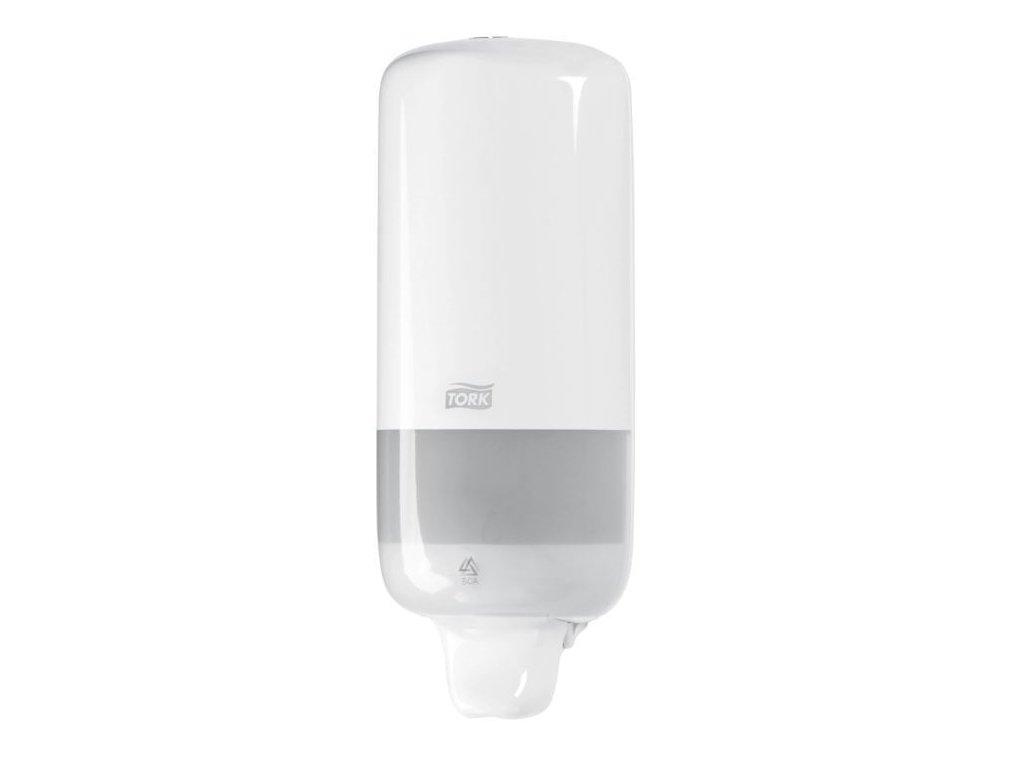 Dávkovač na tekuté mýdlo, 1 litr, na zeď, plast - TORK