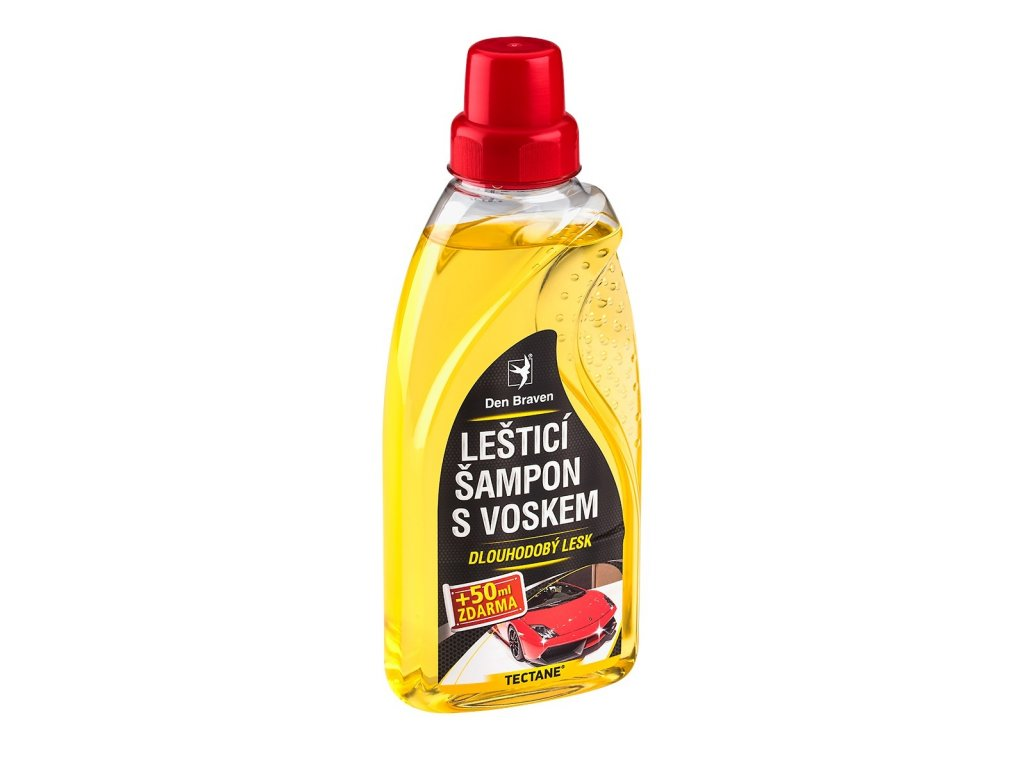Den Braven lešticí šampon s voskem TECTANE, 500 ml