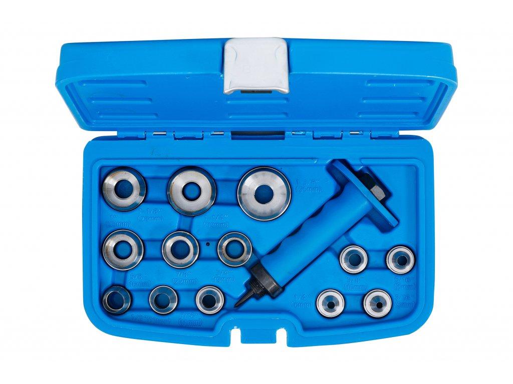 Děrovače 5,0 - 35,0 mm, sada 14 dílů, v PVC kazetě - BGS 0566