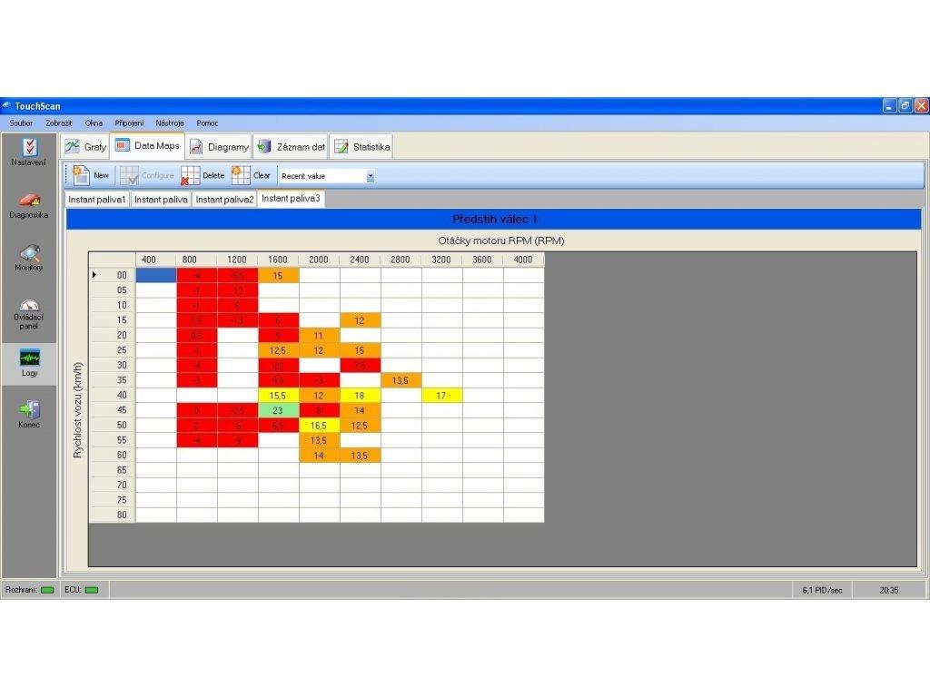 Diagnostický software TouchScan PROFESSIONAL na CD