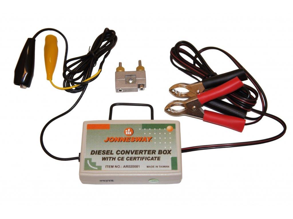 Dieselový konvertor- adaptér pro stroboskopickou lampu, univerzální - JONNESWAY AR020081
