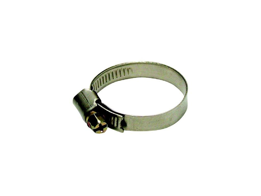 Spony hadicové, nerez (různé velikosti)