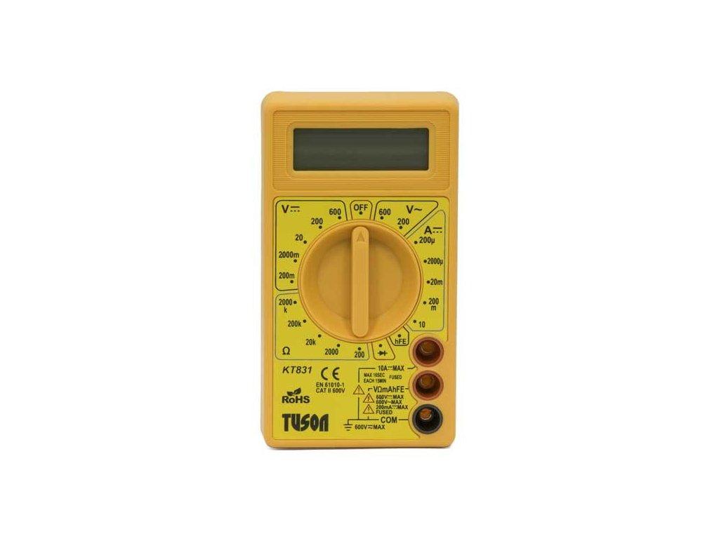 Digitální multimetr basic - TUSON KT831