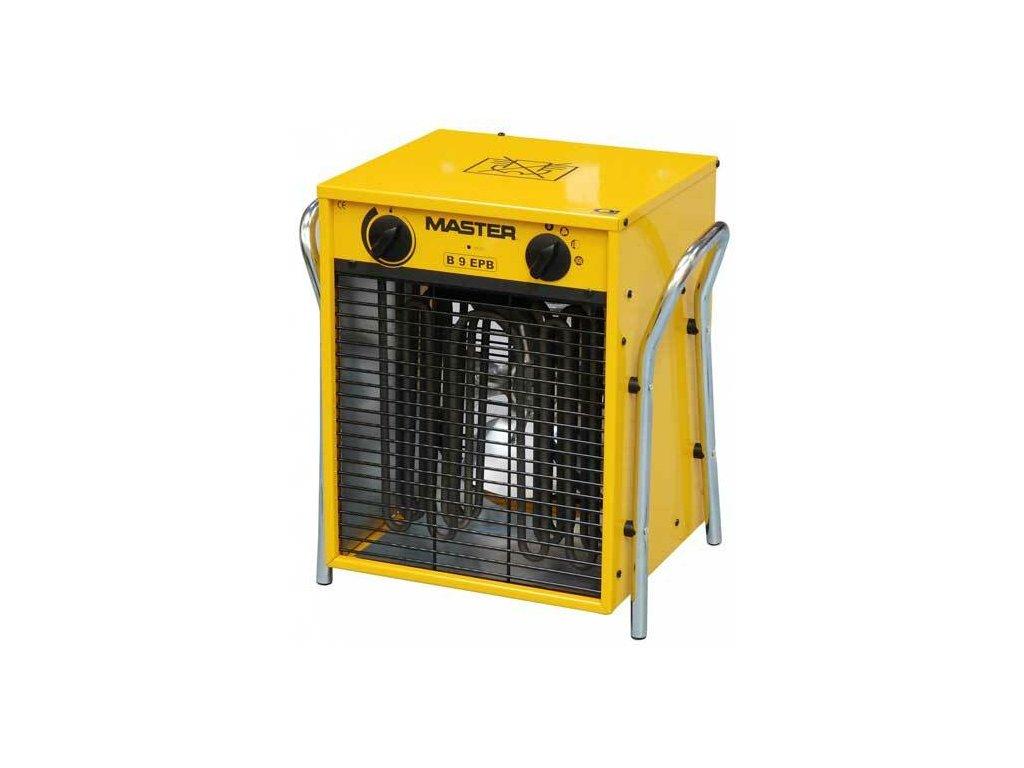 Dílenské topidlo elektrické - přímotop, přenosné, 9 kW, napětí 400V - MASTER B9EPB