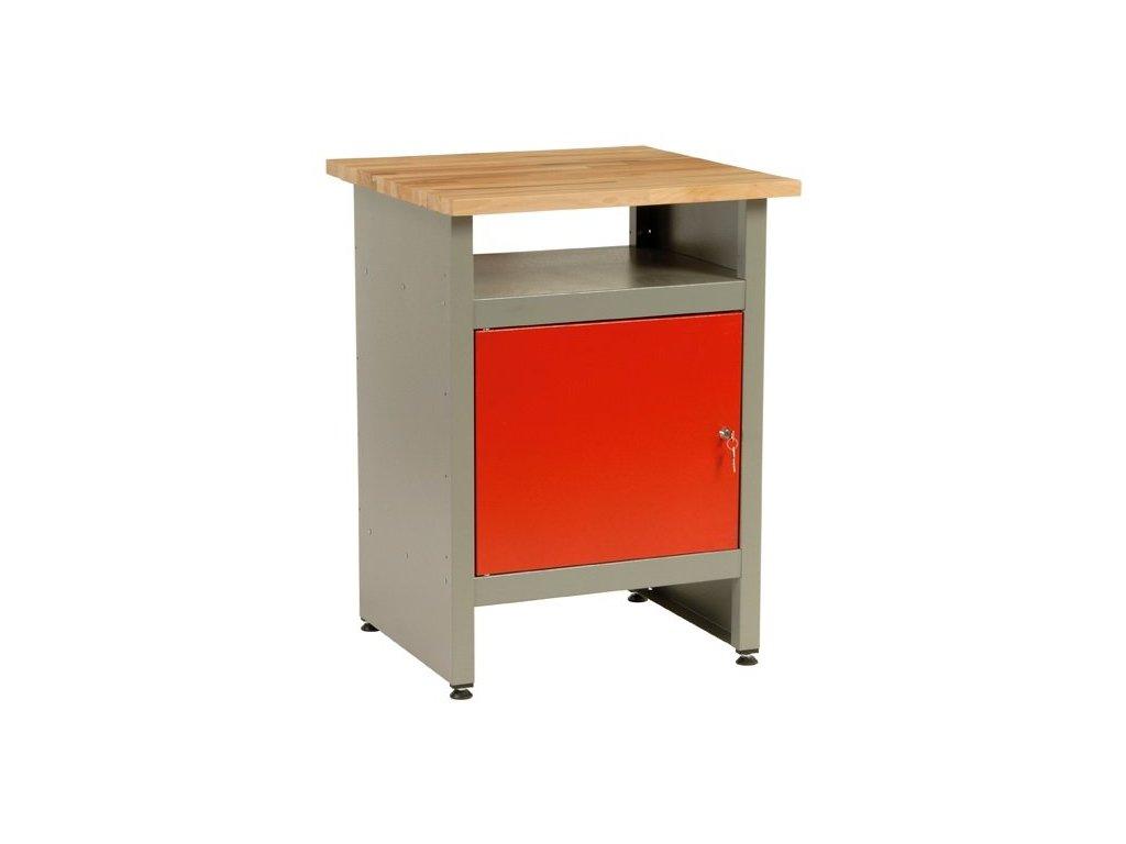 Dílenský stůl, 1 x dvířka, 60x60x84cm - MARS 4806