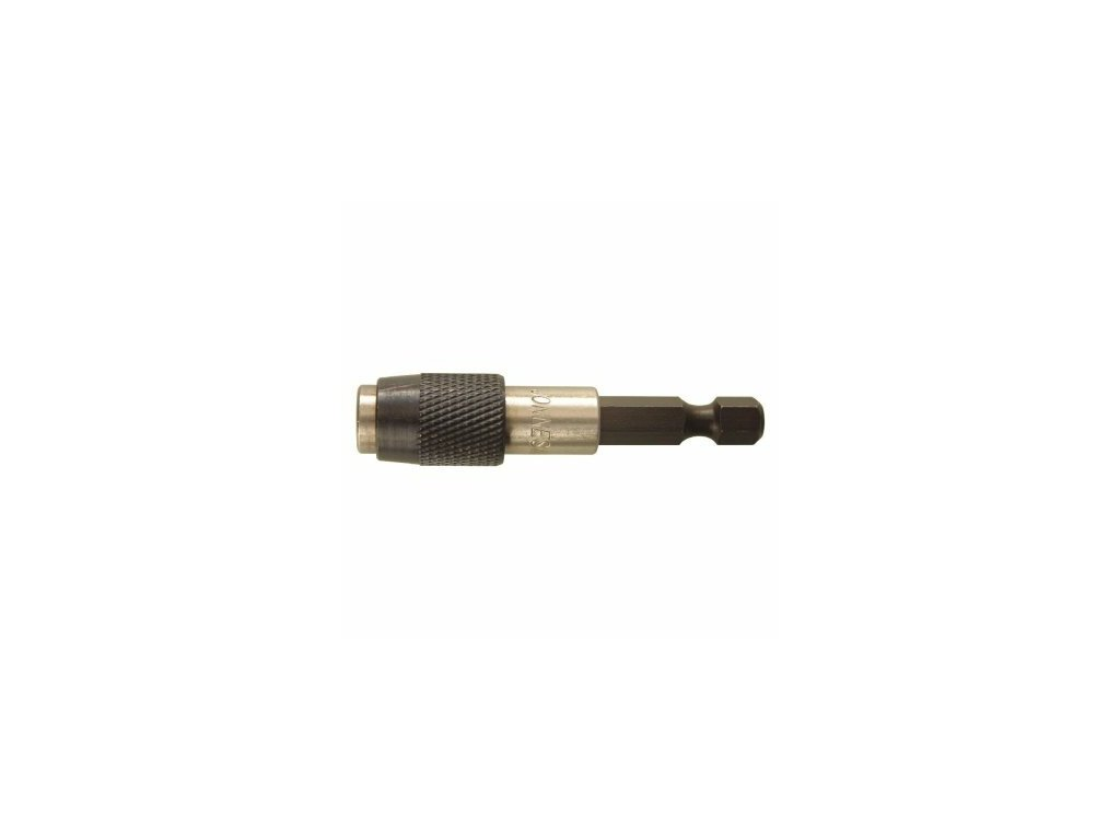 """Držák - adaptér na bity 1/4"""" s aretací a magnetem, 60 mm - JONNESWAY D160MH1QD"""