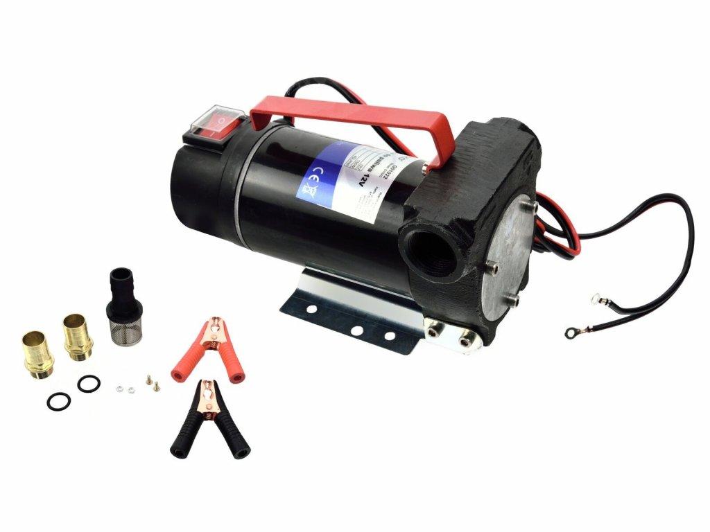 Elektrické čerpadlo na naftu, olej a další kapaliny, max. 40 l/min, 12V