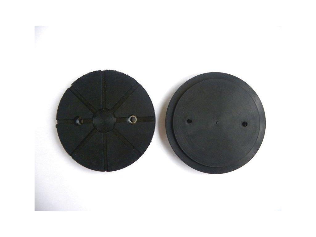 Gumová podložka zvedáku 120x16 mm