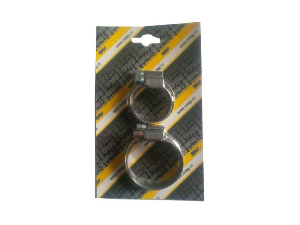 Hadicové spony W2, nerezové, sada velikostí 20, 25, 30, 32 mm - MAGG 110040