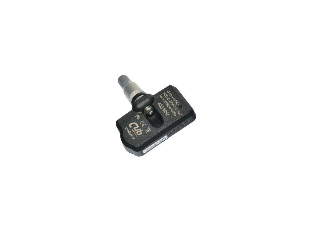 TPMS senzor CUB EU 433 MHz, programovatelný, s ALU ventilem